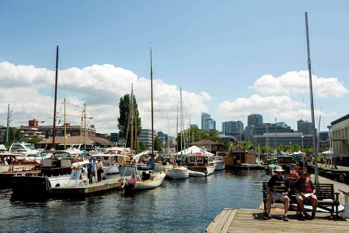 Lake Union Wooden Boat Festival: July 3-5