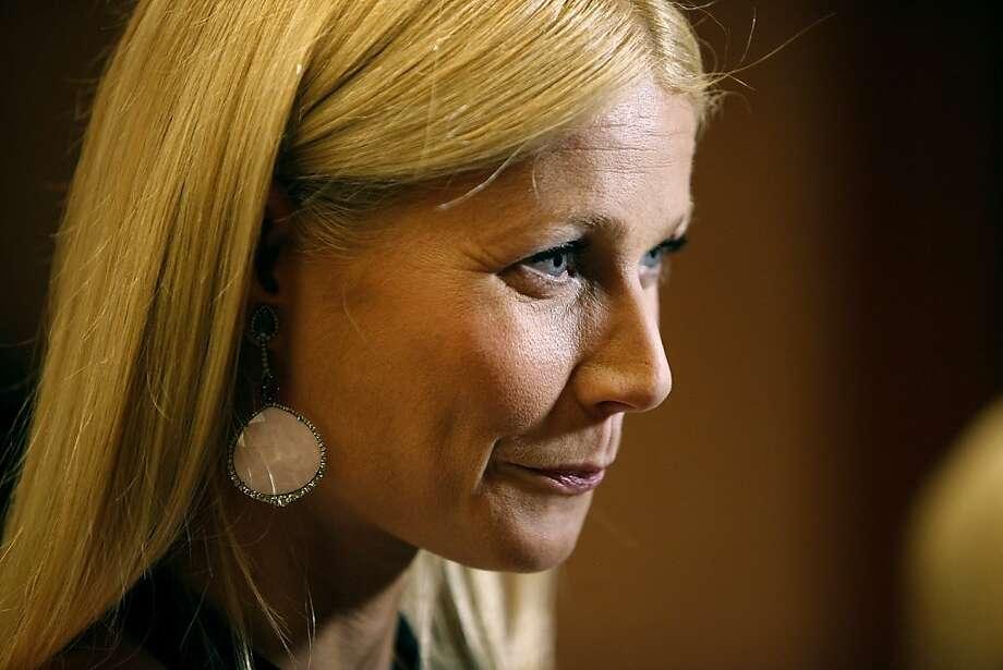 Gwyneth Paltrow, a star whom many love to hate. Photo: John Locher, Associated Press