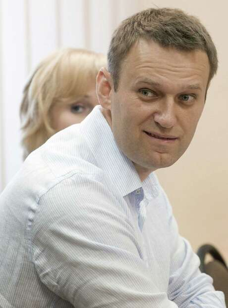 Alexei Navalny says embezzlement charges against him are politically motivated.