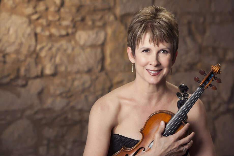 Violinist Stephanie Sant'Ambrogio founded the Cactus Pear Music Festival, which will wrap its 17th season on Sunday. Photo: Courtesy Of The Cactus Pear Music Festival