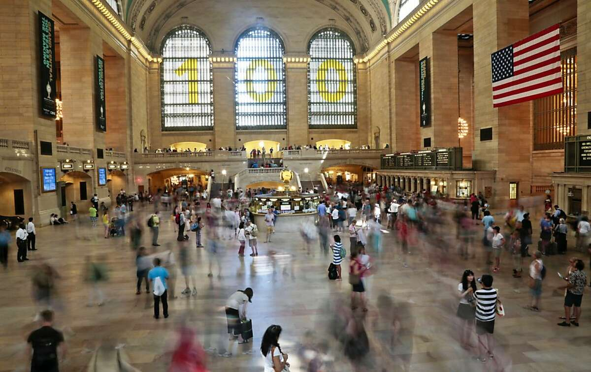 Grand Central Terminal, New York City The famed rail terminal in midtown Manhattan is listed in the American Planning Association's list of top ten picks for great public spaces in America. See what else made the list.