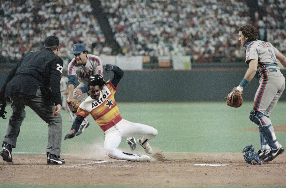 1986: Kevin BassBass hit a career high 20 home runs and posted a .311 batting average. Photo: ASSOCIATED PRESS
