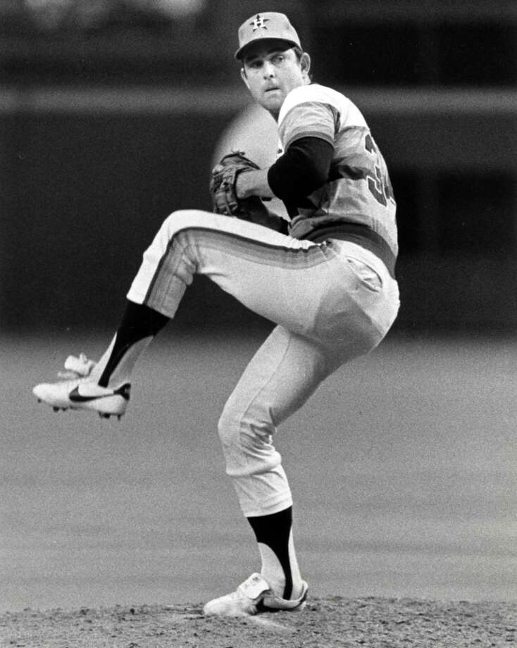 1981: Nolan RyanRyan's first season as an Astros All-Star finished with a career low 1.69 ERA and a 11-5 record. Photo: Steve Campbell, Houston Chronicle
