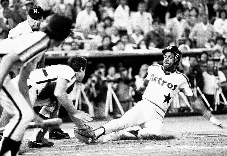 1974: Cesar CedenoCedeno hit a career high 26 home runs and 102 RBIs. Photo: ASSOCIATED PRESS