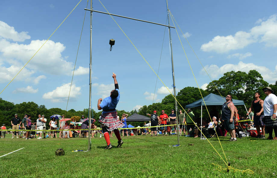 The 90th Annual Round Hill Highlander Games at Cranbury Park in Norwalk, Conn. on Saturday July 6, 2013. Photo: Christian Abraham / Connecticut Post