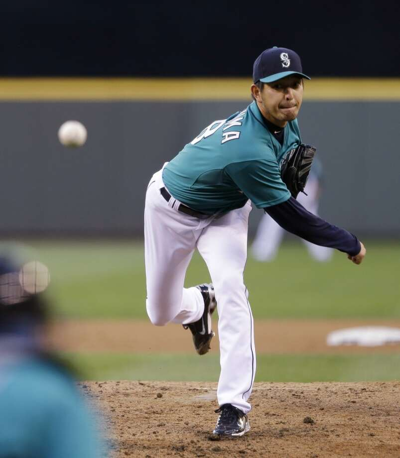 RHP - Hisashi Iwakuma, Mariners (pitched Sunday)