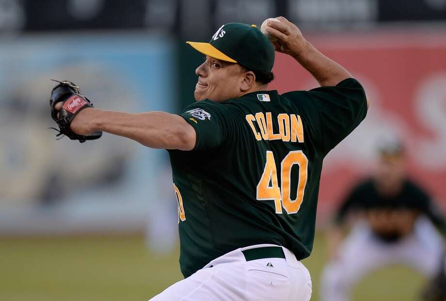 RHP - Bartolo Colon, Athletics (pitched Sunday)Injury replacement