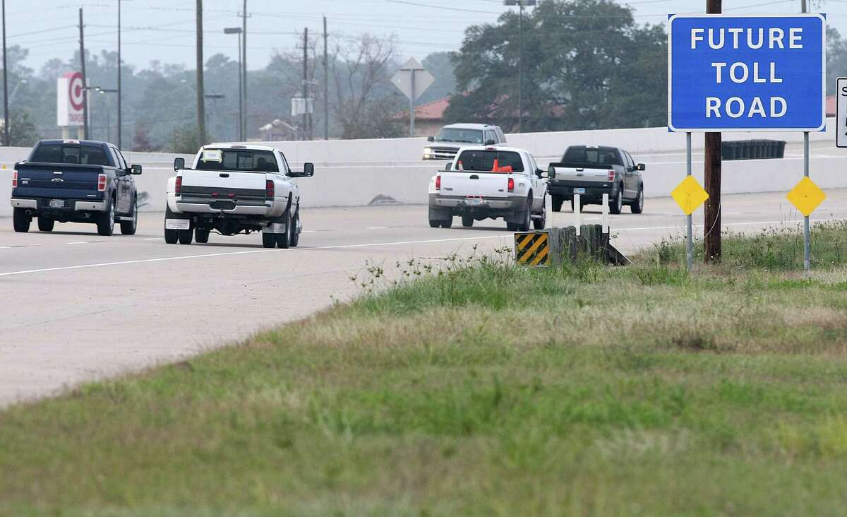 The future extension and expansion of SH 249 into a toll road will help improve mobility. ( Nick de la Torre / Houston Chronicle )
