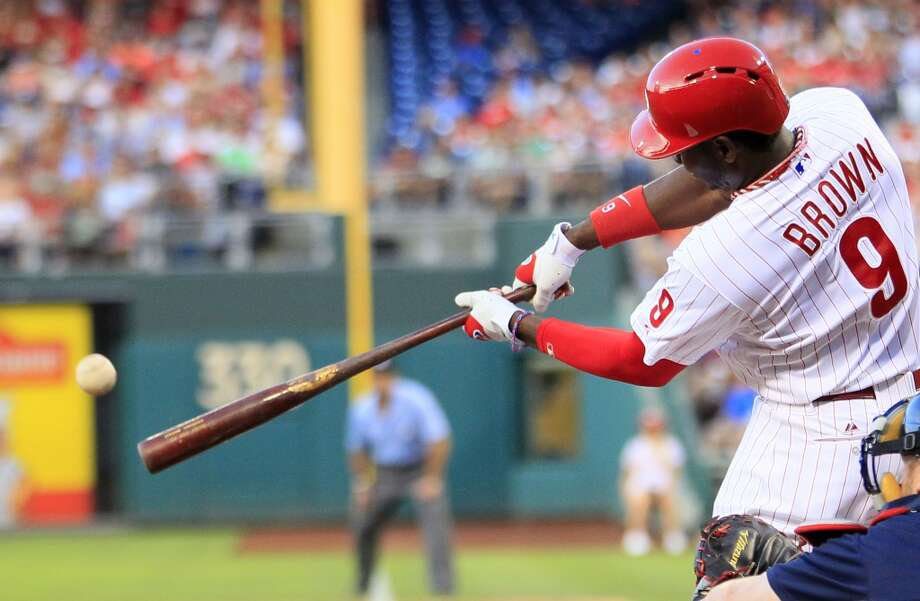 Reserve OF - Domonic Brown, Phillies