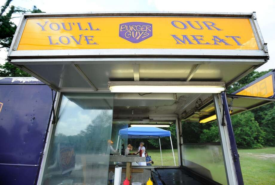 The Burger Guys food truck can be found in the King Arthur's Pub parking lot from 11 a.m. to 3 p.m. Tuesday through Friday and at Lunch at the Lake on Monday. Photo taken Thursday, June 20, 2013 Guiseppe Barranco/The Enterprise