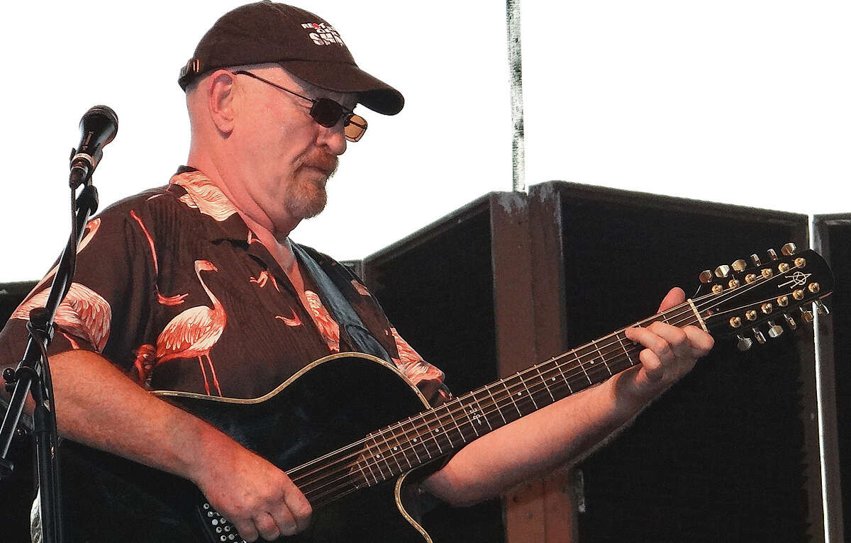 Rock and Roll Hall of Famer Dave Mason, a founding member of Traffic, performed with his acoutic group Saturday night at the Levitt Pavilion's temporary stage on Jesup Green. WESTPORT NEWS, CT 7/6/13