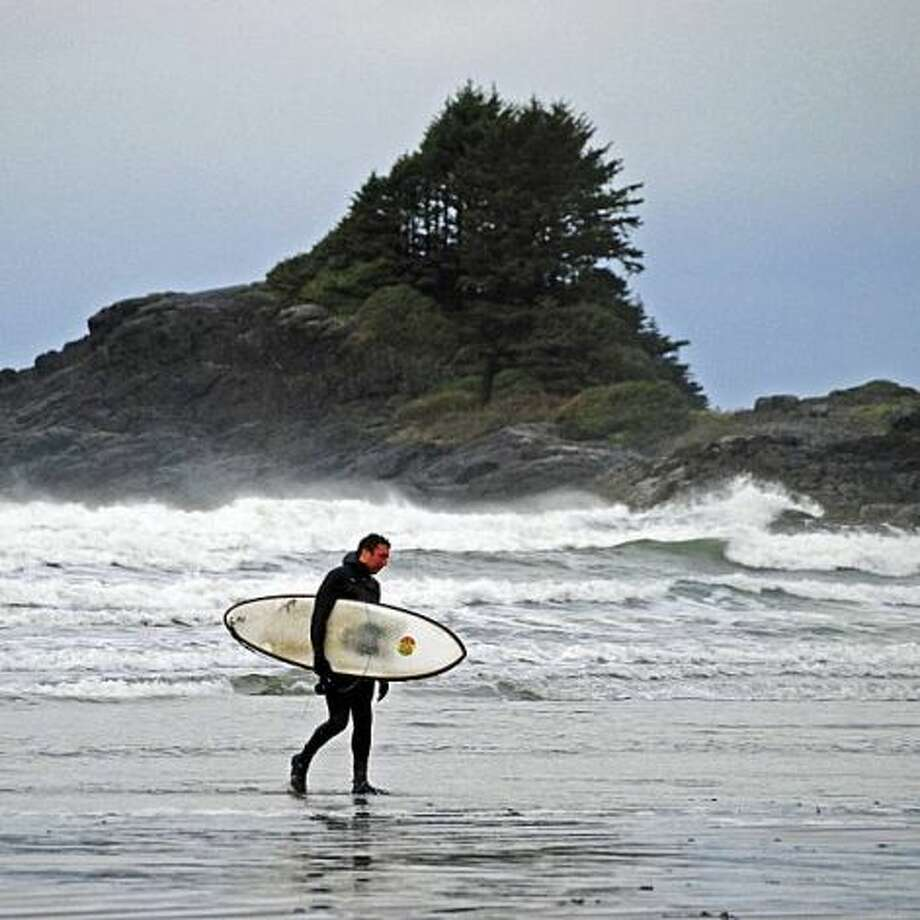 Tofino is one of Canada's most popular surfing spots.