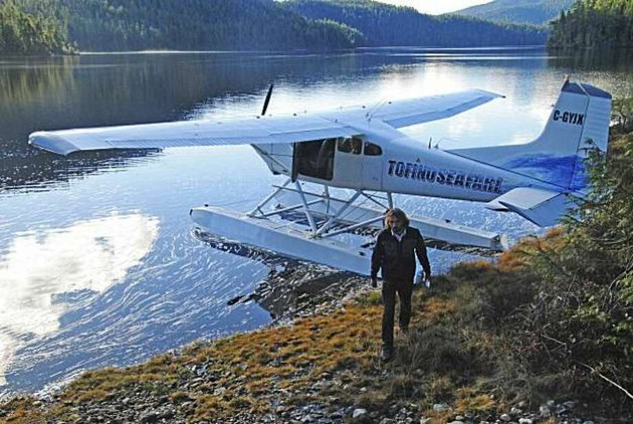 Planes are the easiest way to get to the remote town on the west coast of Vancouver Island.