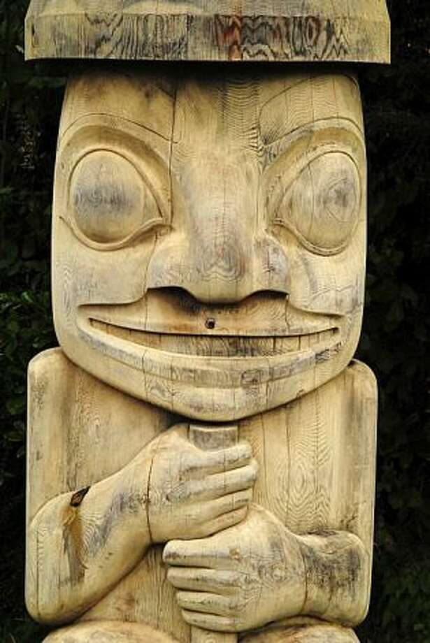 Local art in Tofino, on the west side of Vancouver Island.