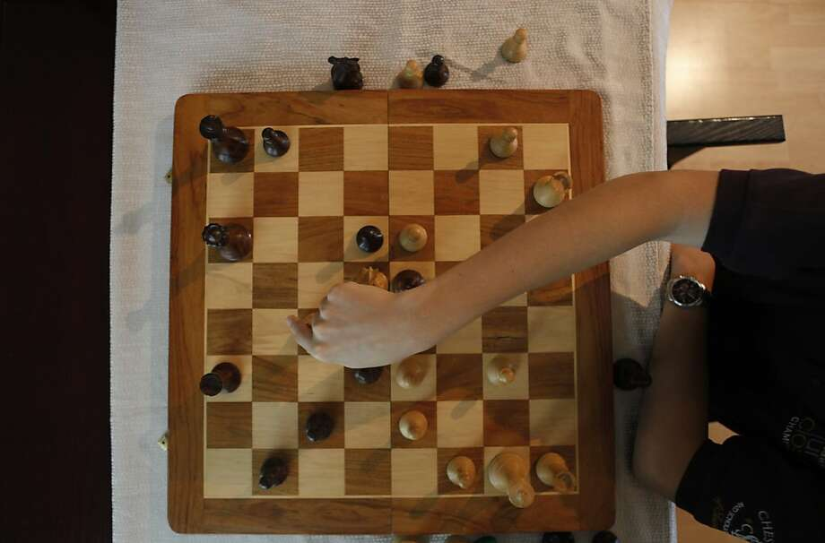 Daniel Naroditsky, 17, of Foster City is the top chess player under 20 in the United States. Photo: Katie Meek, The Chronicle