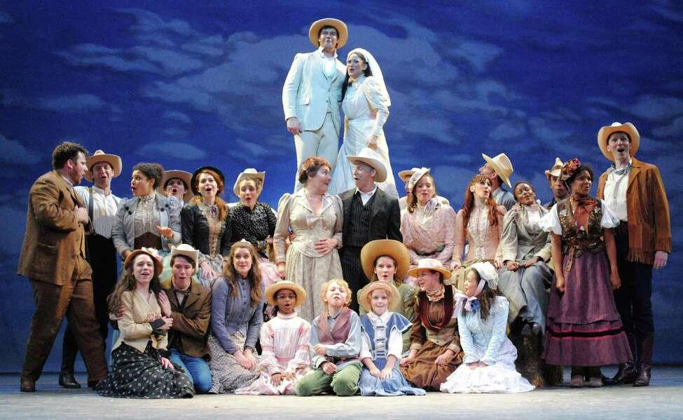 The Oklahoma cast, summer 2013, (Credit Abby LePage)