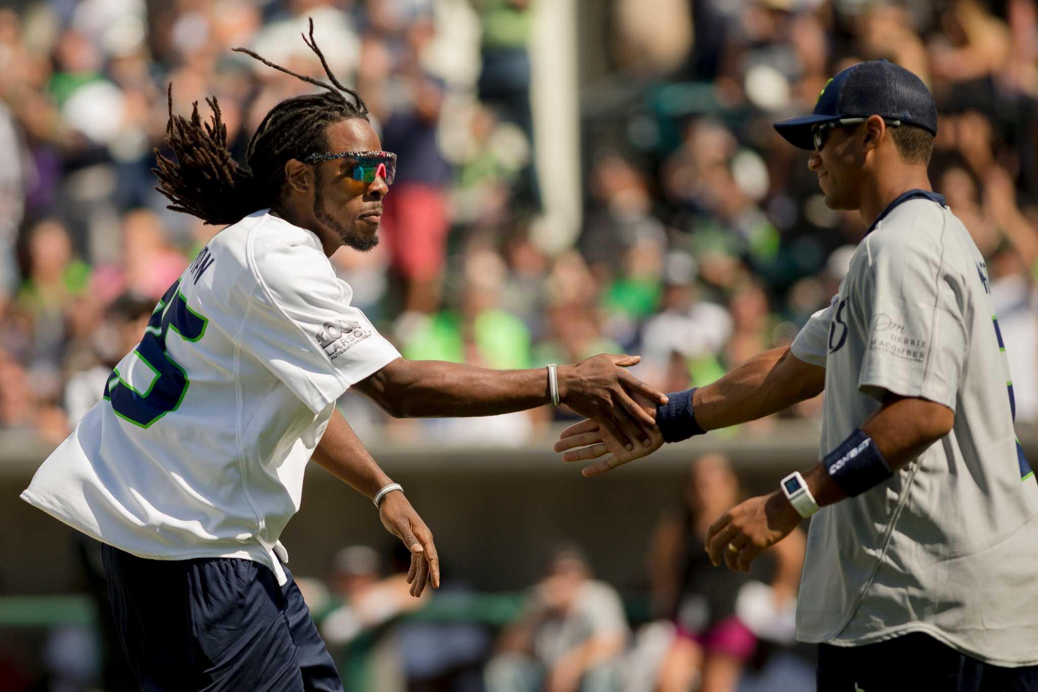Richard Sherman Celebrity Softball Game | Tacoma Rainiers ...