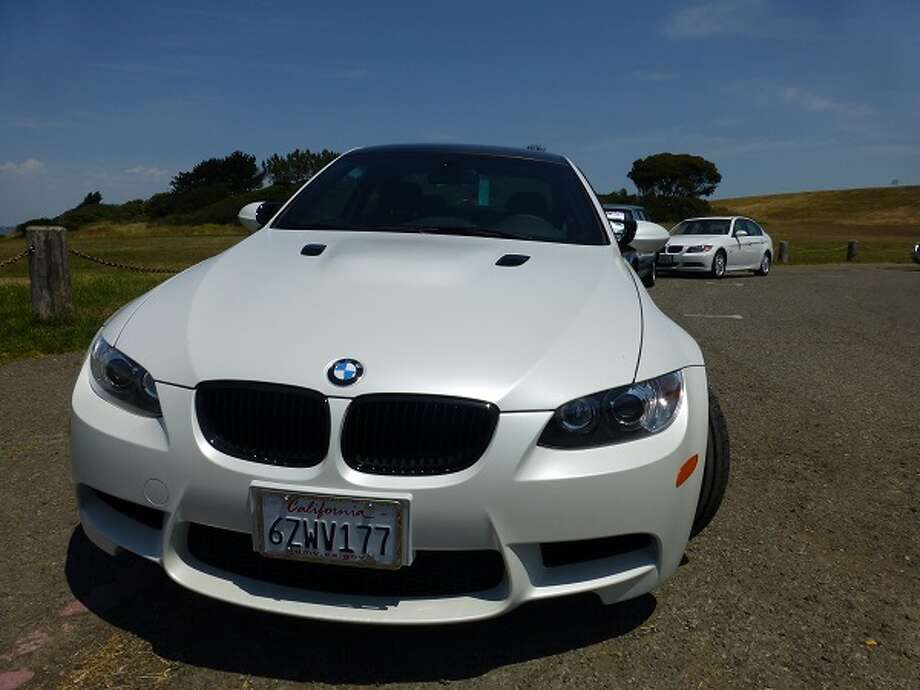 The M3 we tested runs out the door at nearly $82,000, which includes a special paint job that looks like a satin silver.