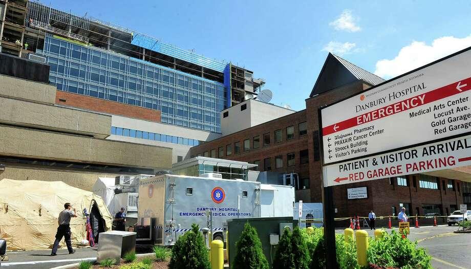 Mobile ER set up after Danbury Hospital pipe bursts - NewsTimes