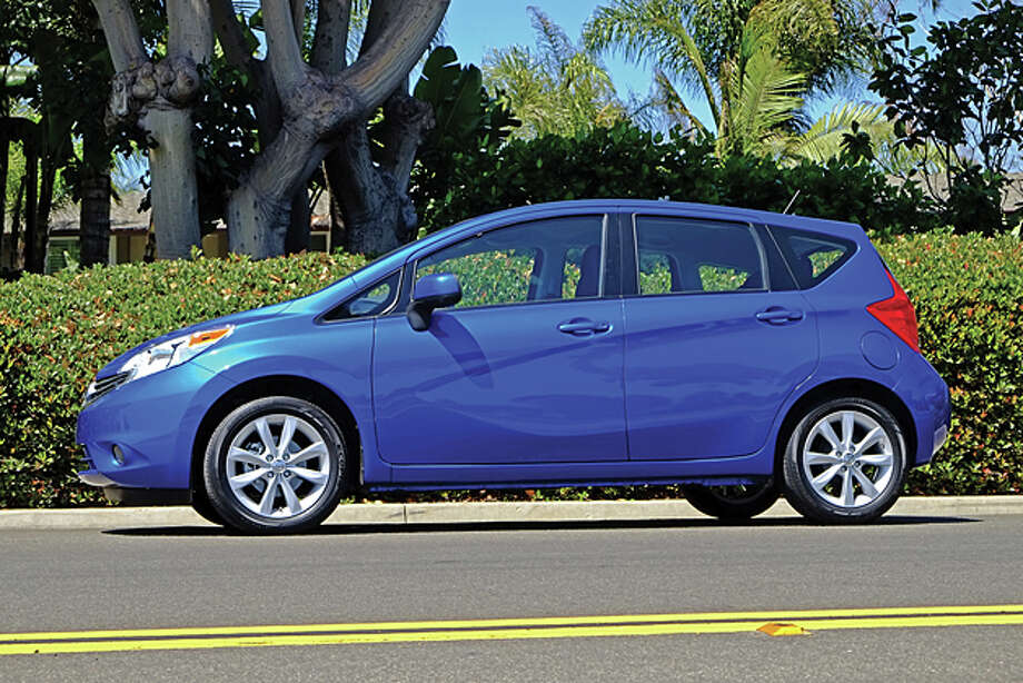 Nissan Versa Note: Starting at $13,990Nissan Versa sedan: Starting at $11,990 / copyright: Dan Lyons - 2013