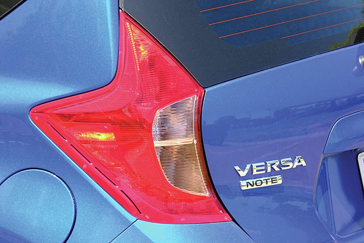 2014 Nissan Versa Note (photo by Dan Lyons)