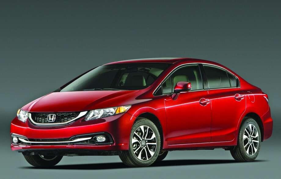 3. Honda cars90 reported stolen in Houston in November 2013.