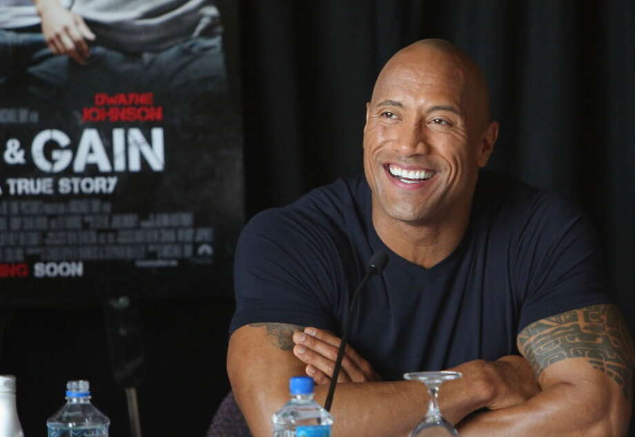 Dwayne Johnson Photo: Alexander Tamargo, Getty Images For Paramount / 2013 Alexander Tamargo