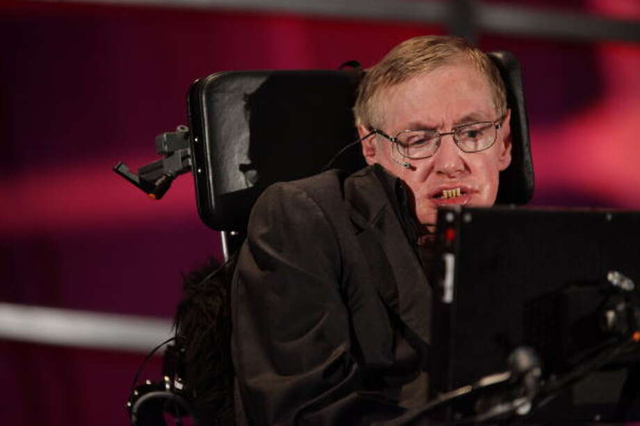 Professor Stephen Hawking Photo: AFP, AFP/Getty Images / 2010 AFP