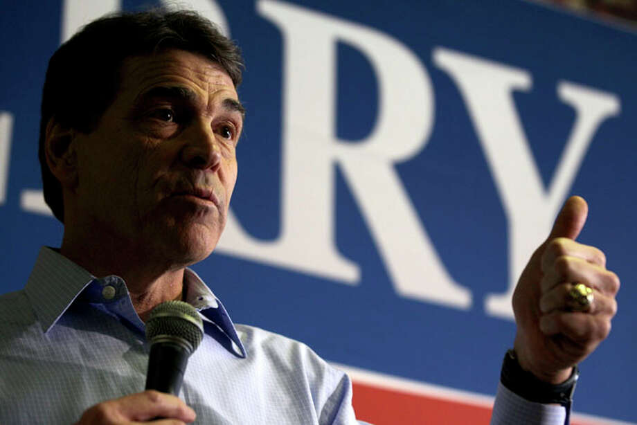 Perry had been polling behind Romney, Gingrich and Santorum in South Carolina. Photo: David Goldman, Associated Press / AP