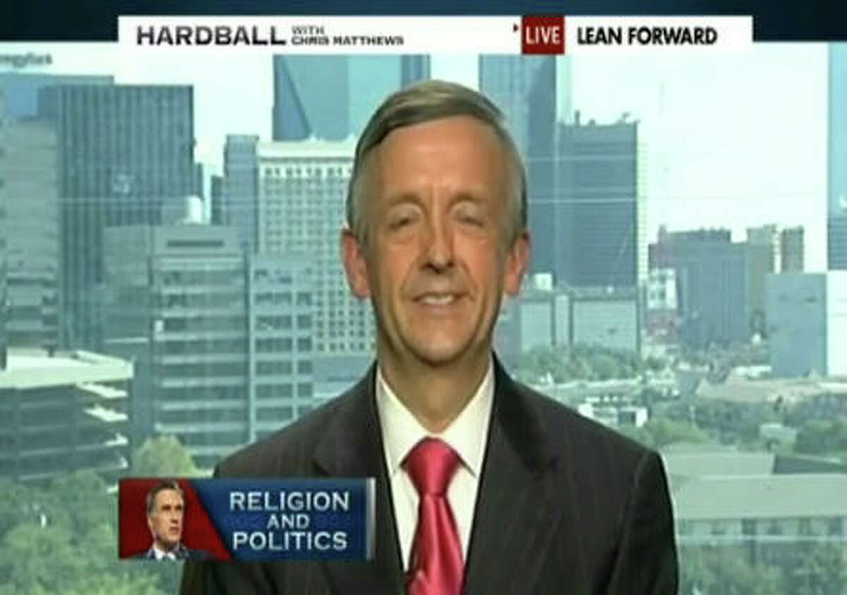 Robert Jeffress, pastor of First Baptist Dallas, has appeared on Bill O'Reilly's show and denounced protests led by Dominique Alexander against his church. Alexander targets Jeffress due to his support of president-elect Donald Trump.