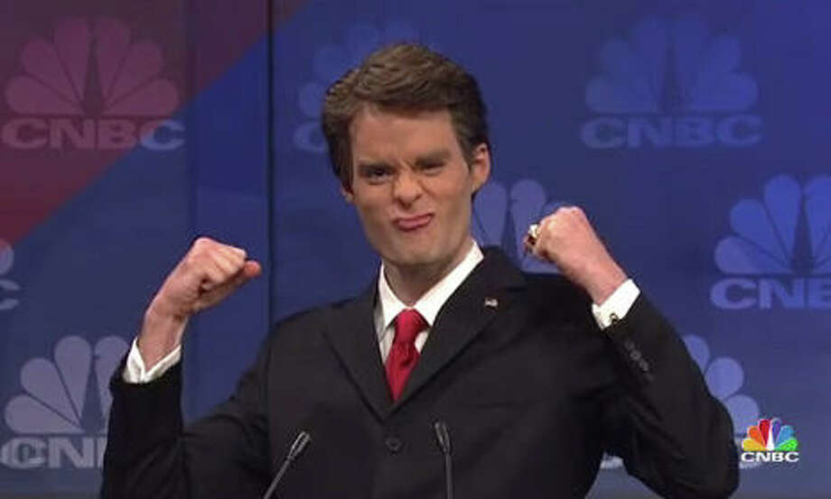 The governor was parodied on SNL nearly every week this fall, often by Bill Hader but also by guest host Alec Baldwin.