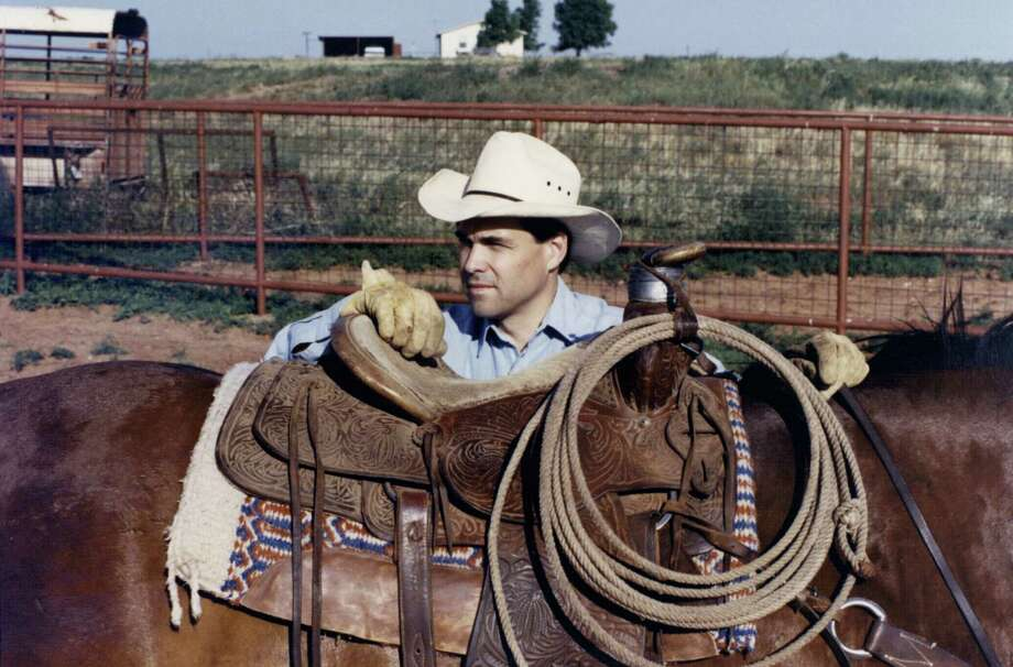 A Washington Post article published in October tied Perry with a family hunting ranch that had the N word painted on a rock on its property, but Perry said the name had long been changed. Photo: Associated Press / Perry Campaign
