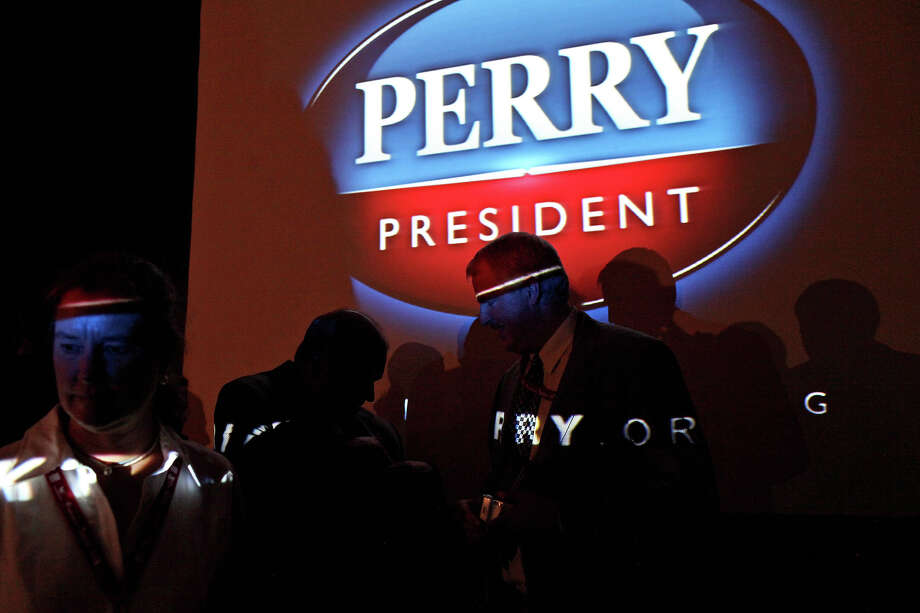 Perry announced his run for president at a Red State gathering in South Carolina on August 13. Photo: LISA KRANTZ, SAN ANTONIO EXPRESS-NEWS / SAN ANTONIO EXPRESS-NEWS