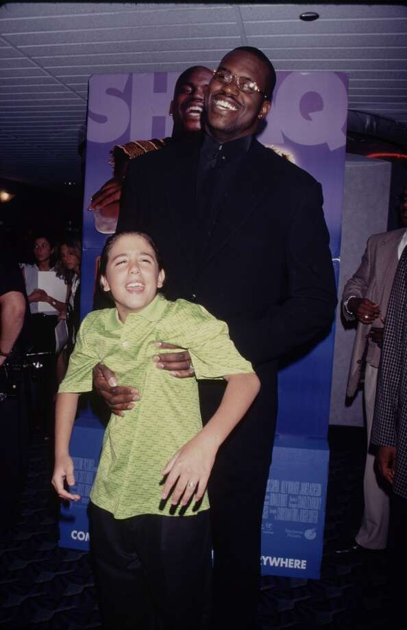 Here we see Shaquille attacking his Kazaam co-star Francis Capra.  (Photo by Time & Life Pictures/Getty Images)