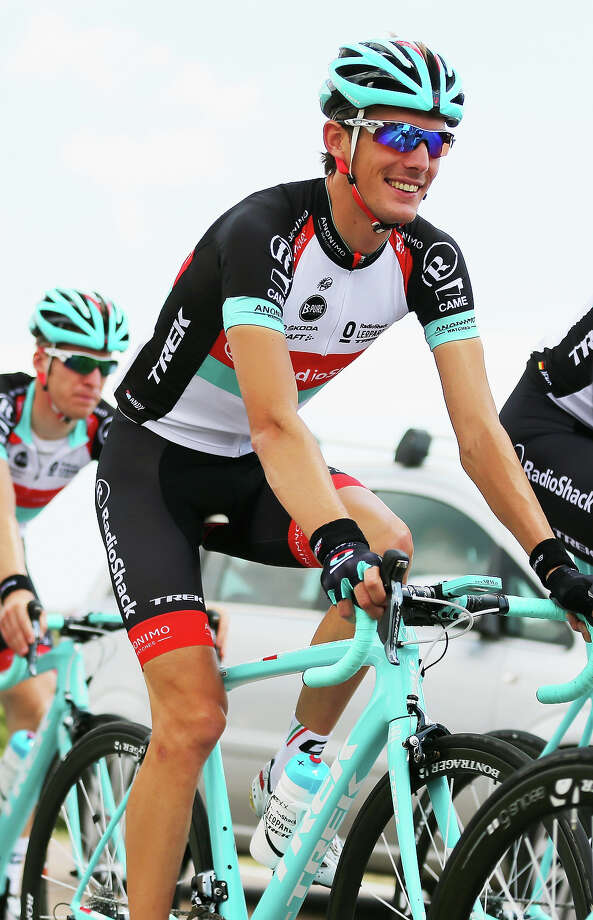 Andy Schleck of Luxembourg and Radioshack Leopard is seen on a training ride ahead of the 2013 Tour de France on June 28, 2013 in Port-Vecchio, Corsica. Photo: Bryn Lennon, Getty Images / 2013 Getty Images