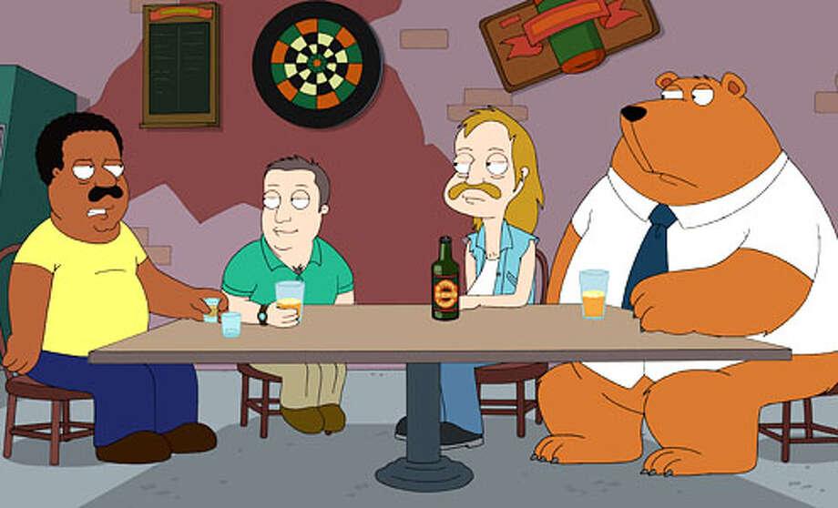 "...spun off into ""The Cleveland Show."""