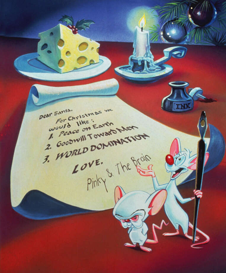 "... led to ""Pinky & the Brain."""