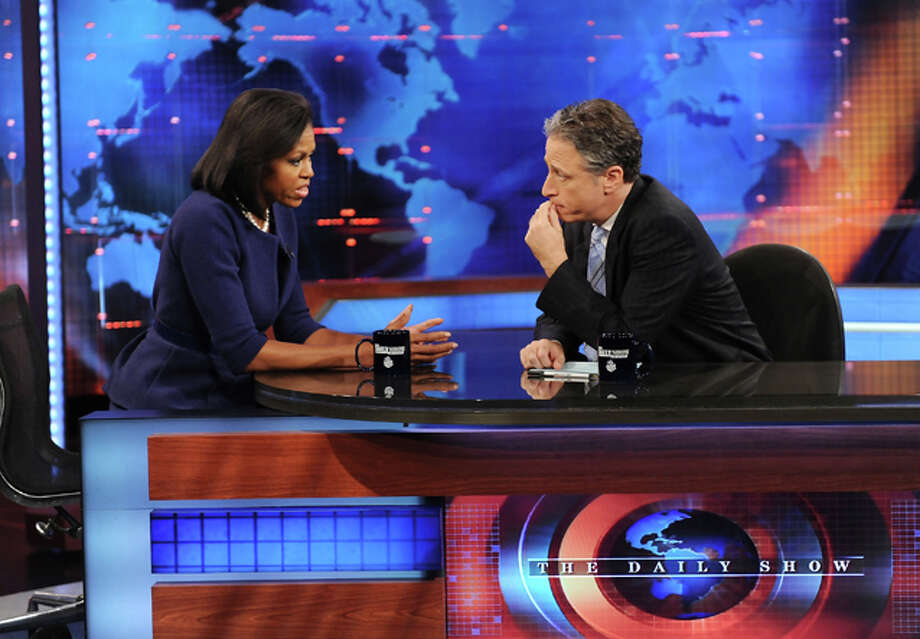 """The Daily Show with Jon Stewart"" ... Photo: Evan Agostini"