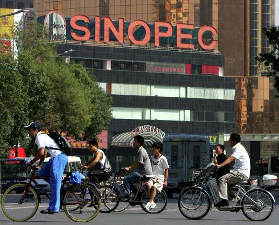 4. Sinopec Group  Previous Rank: 5 Revenue: $428.2 billion Profits: $8.2 billion
