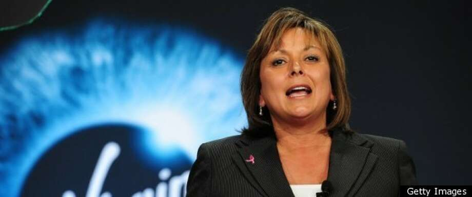New Mexico Gov. Susana Martinez is the state's first female governor and the nation's first female Hispanic governor.