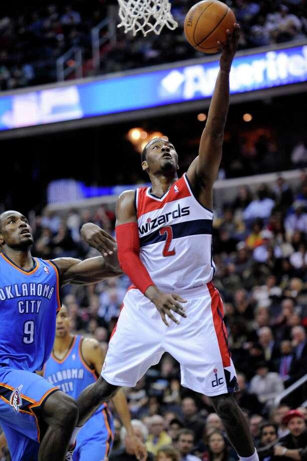 Washington Wizards guard John Wall Photo: Nick Wass, Associated Press / FR67404 AP