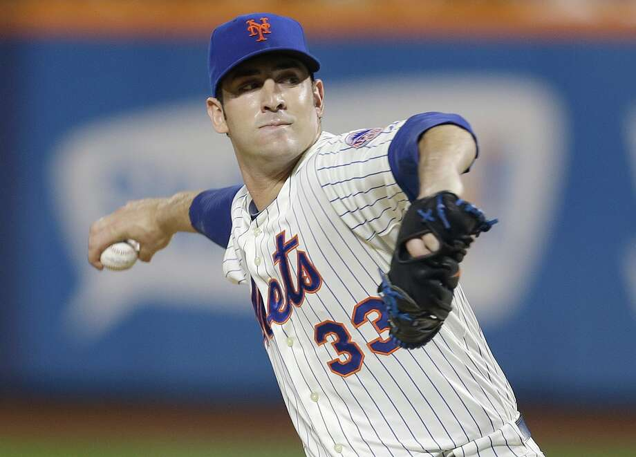 New York Mets pitcher Matt Harvey Photo: Frank Franklin II, Associated Press / AP