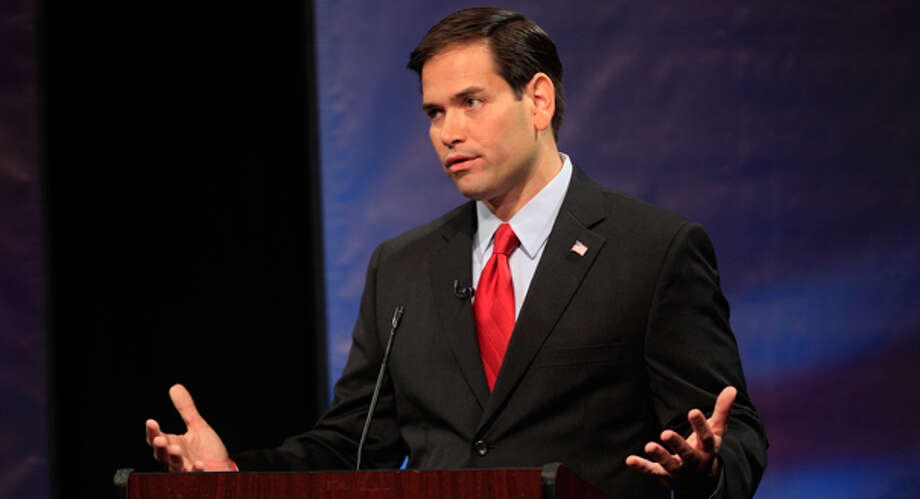 Florida Sen. Marco Rubio is known as a Tea Party crusader and was reportedly vetted for Mitt Romney's running mate in 2012. Photo: J Pat Carter