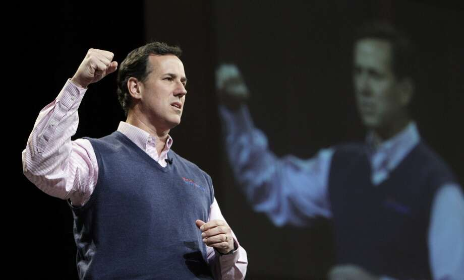 Rick Santorum, the former Pennsylvania congressman, made a late surge in the 2012 election polls before he ultimately bowed to Mitt Romney.