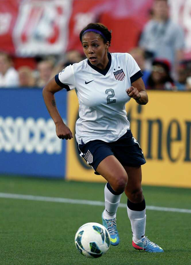 Soccer player Sydney Leroux Photo: Michael Dwyer, Associated Press / AP