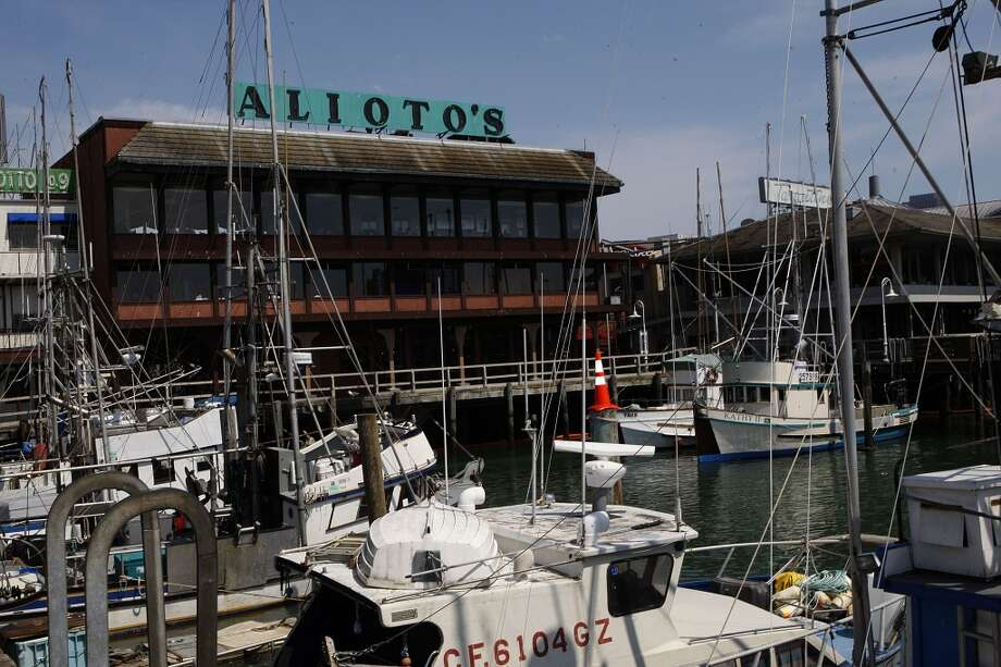A view of Alioto's at Fisherman's Wharf.