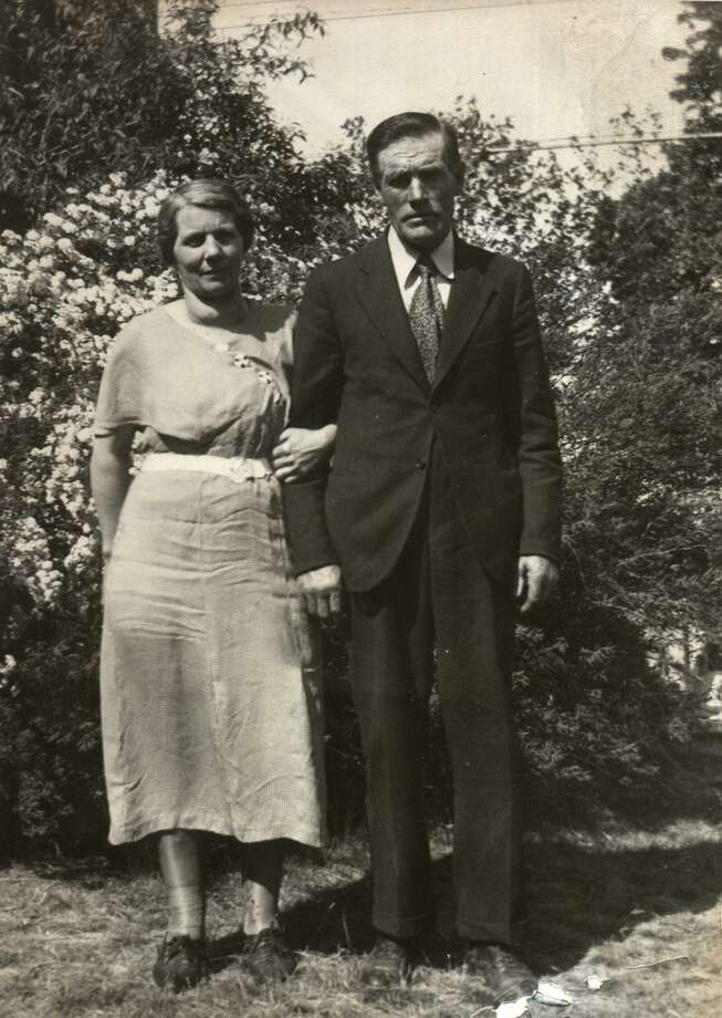 1935 photo of Ai and Bertha Whittaker, grandparents of Nancy Johnsen Curran. Their descendants number at least 412 according to Curran. Curran is a member of Eastern Parkway United Methodist Church in Schenectady and a genealogist. (Photo provided by Nancy Johnsen Curran)