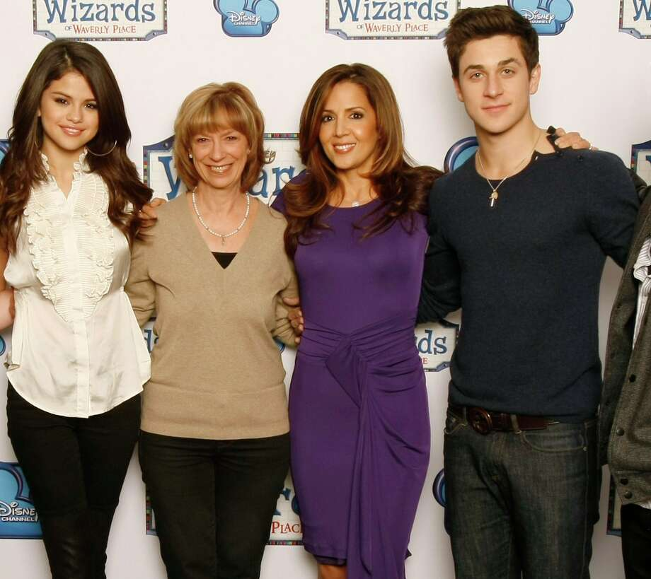 Casting executive Judy Taylor (second from left) hopes to discover another young talent in San Antonio along the lines of 'Wizards of Waverly Place' discovery, Selena Gomez, seen here with co-stars Maria Canals-Barrera and David Henrie. Photo: Rick Rowell, DISNEY CHANNEL / © 2011 Disney Enterprises, Inc. All rights reserved.