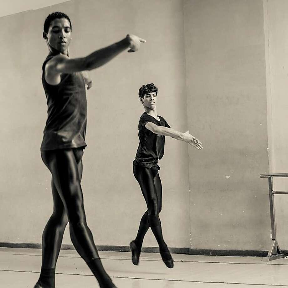 Dancers at the Cuban National Ballet School are the subject of Rebekah Bowman's photographs. Photo: Rebekah Bowman