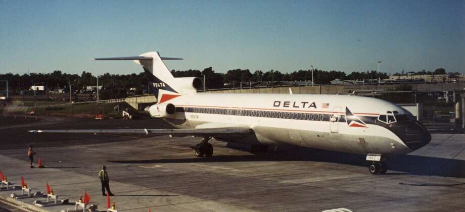 On Aug. 31, 1988, a Delta Air Lines 727 (like this one) struck an antenna array about 1,000 feet past the end of a runway at Dallas/Fort Worth International Airport and crashed.Two of the seven crew members and 12 of the 101 passengers aboard died, including one passenger who escaped, but then went back into the burning plane. Investigators determined the pilots did not have the wing flaps and slats properly configured, and a warning system failed to alert them of this. Photo: JKruggel, Wikimedia Commons